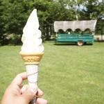 牧場 タカラ - ソフトクリーム