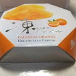 モロゾフ - 凍らせてシャーベット バレンシアオレンジ 263円 【 2013年6月 】