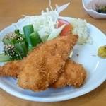 ひろ亭 - 料理写真:日替わり定食(チキンカツ)