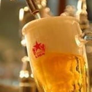 こだわりの生ビールは徹底管理中!是非ご賞味ください!