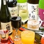 魚八商店 - 焼酎、梅酒、日本酒、ワイン、全てがグラスいっぱいに!!CP抜群◎◎