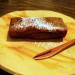 台湾茶藝館 月和茶 - モチモチとした食感の焼き菓子。名前は覚えていません。
