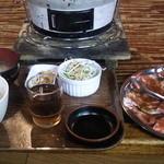 19851160 - ランチメニューからもみじ豚ロース定食です。