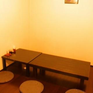 【宴会にぴったり】15名様まで収容可能の個室もご用意♪