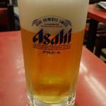 餃子の唐安楼 - 生ビール:290円