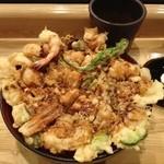 天ぷら てんかつ - おっきい!美味しかった☆