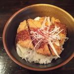 金星食堂 - ミニソースかつ丼 300円