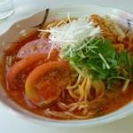 妙高SA下り線スナックコーナー - 冷やしトマト担々麺