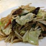 三宝食堂 - 肉野菜炒め