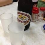 三宝食堂 - ドリンク写真:グラス冷え冷え!