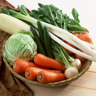 新鮮野菜を毎日仕入れ☆