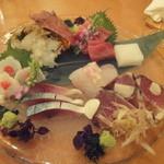 小石川 かとう - 本日の刺し盛り