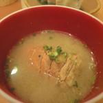 小石川 かとう - うちわ海老の味噌汁