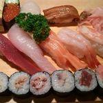 大船鮨 - にぎりセットA1,250円