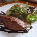 19864721 - 牛もも肉のローストサラダ仕立て(1200円)