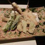 アサヒマチシキアン - メゴチ天ぷら