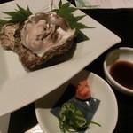 アサヒマチシキアン - 牡蠣酒蒸し