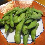 割烹さわど お食事処 摩椰 - 枝豆