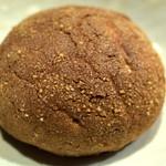 パン工房 Nohmi - 「メロンパン(黒)」(160円)。ちと病みつきになりそうなメロンパン。