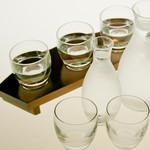 結 - 3種類を飲み比べ【利き酒セット】。お客様のお好みをお探し下さい!