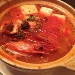 BON APPETIT - 有頭海老と豆腐のブイヤベース風@1,200