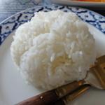 19885351 - ライス おむすびみたい。タイ米です。