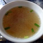 19885478 - スープ 香草が入っています。