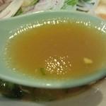 一徹らーめん - スープ