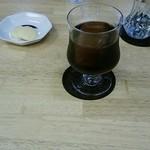 マーティ - 料理写真:水出しコーヒー(ビター)アイス
