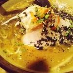 麺処 壱萬屋 - こがし黒味噌ラーメン