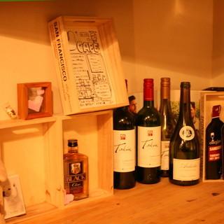 ワイン好きには嬉しい価格設定!