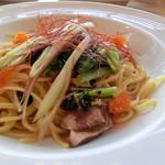 パルフィオーレ - 初鰹と小松菜・香味野菜の和風パスタ(マルゲセット)