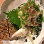 大江戸寿司 - 真鯵タタキ