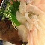 大江戸寿司 - カワハギお造り