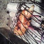 SoulKitchen博多屋台DON! - じっくりと煮込んだ柔らか豚足を炭火焼きで!お箸で切れる柔らかさ!コラーゲンたっぷりで美容にもGOOD!