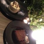 19894369 - 焼きチーズケーキとチョコとナッツのテリーヌ☆