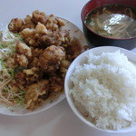 軽食 木曜館 - 料理写真:チキン唐揚げ・700円