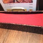 円山グリル - テーブルの上 【 2013年6月 】