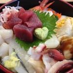 たらく - 2013.07.06海鮮丼
