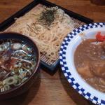 19898243 - (ランチセット)つけ麺+半カレー