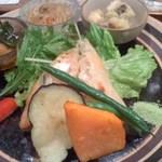 19899132 - 野菜たっぷりのおかず