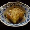 花翆 - 料理写真:焼き茄子のゼリー寄せ、香ばしく本日のイチオシ