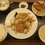 19900949 - 八宝菜定食 980円
