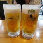 ビービーキューホッカイドウ - サッポロ生ビール(400円)