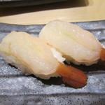あっぱれ寿司 - これも良かったボタンエビ
