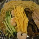 中国料理 富美 - 冷麺、アップ!