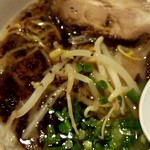 麺太 - とんこつ黒ハーフ 400円