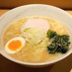 道の塩 - 料理写真:2013.7 塩らーめん(750円)並は麺量150g