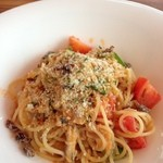 イタリア料理 La sette - 瀬戸内産アジを使ったパスタ