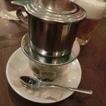 ハノイのホイさん - 最後はベトナムコーヒーでフィニッシュ(2013.07)